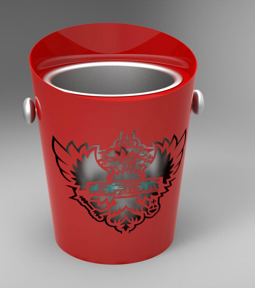 laser cut, logo, brand, led, ice, bucket, ice bucket, icebucket, champagne,bottle service, VIP Bucket, Custom,