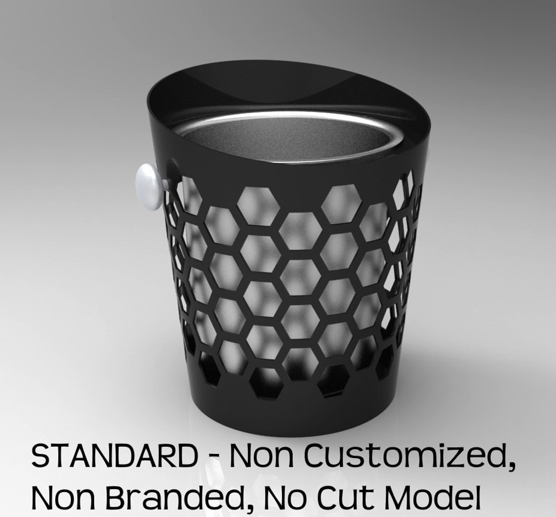 STANDARD - NON BRANDED MODEL - NO LOGO CUT - LED BACK-LIT INTERIOR