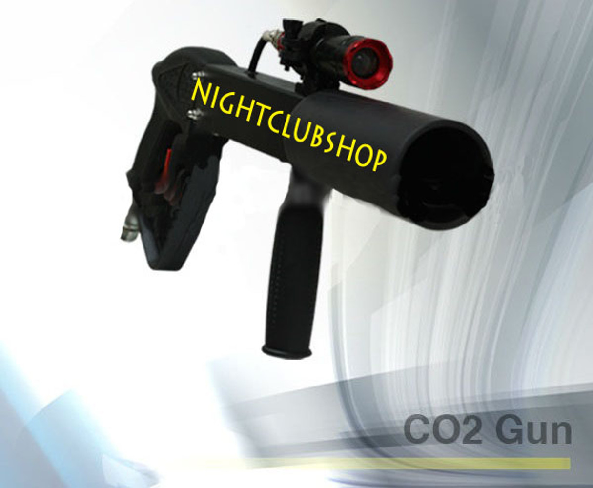 co2 cannon, co2 gun,gun,cryo, blaster, party cannon, co2 cannon, co2 effect, effects, special effects, light up co2 gun, light,