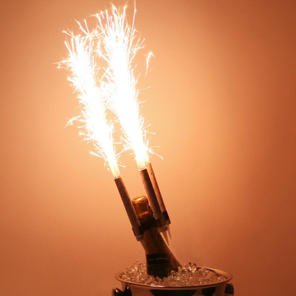 Color, Sparkler, Champagne, Bottle, Cake