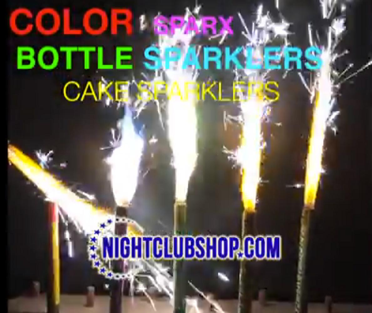 Color, Champagne, Bottle, Cake, Sparkler, Big, Birthday, Wedding,