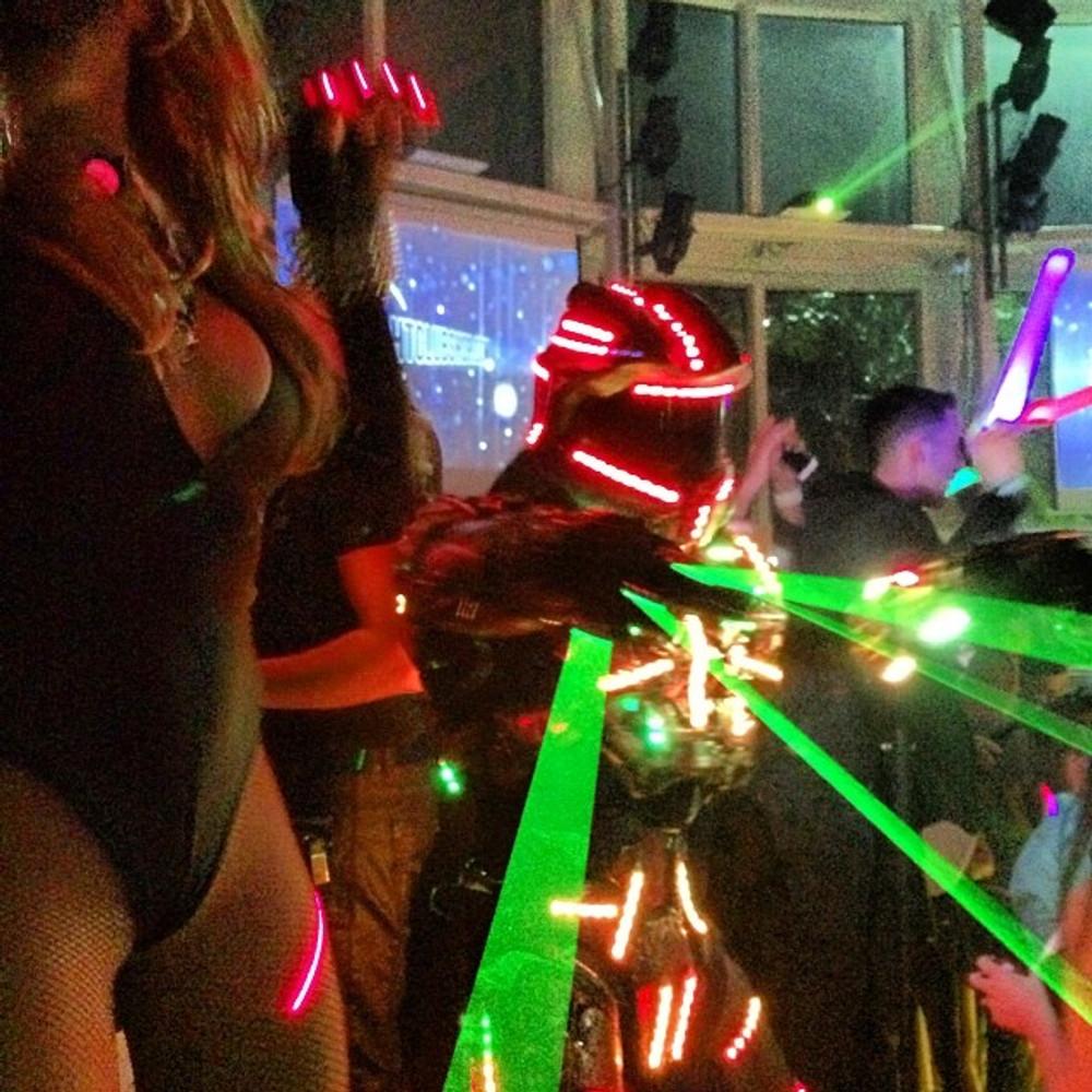 Laser, Glove, special, effect, FX, Nightclub, DJ, Dancer, stage, Lazer, Laserglove, RAVE