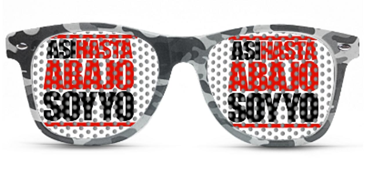 custom, printed, party, glasses, sun glasses, camo