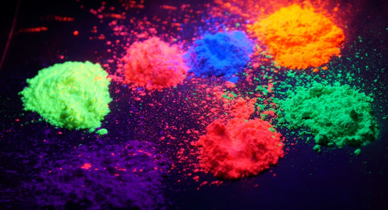 PLUR Party POWDER (UV Reactive NEON COLORS) By the Pound