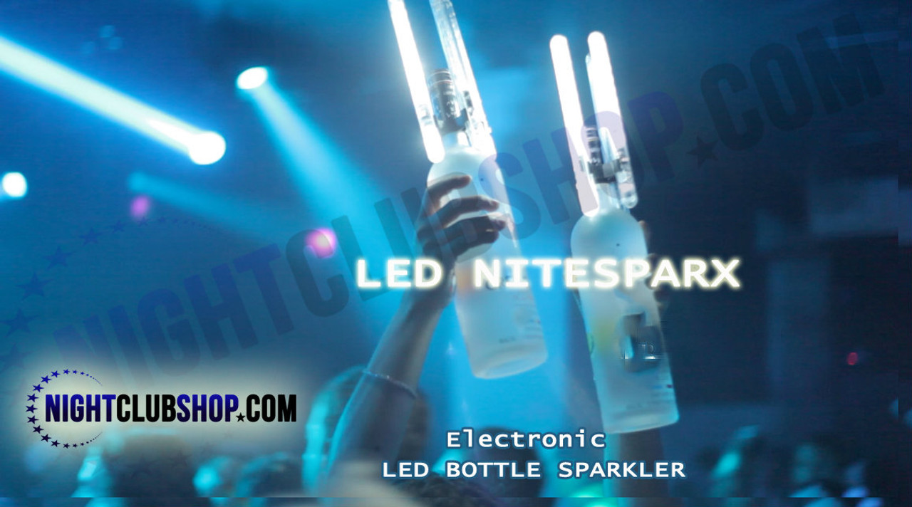 LED, electronic, Sparkler, alternative, LED NITESPARX, LED SPARKLER