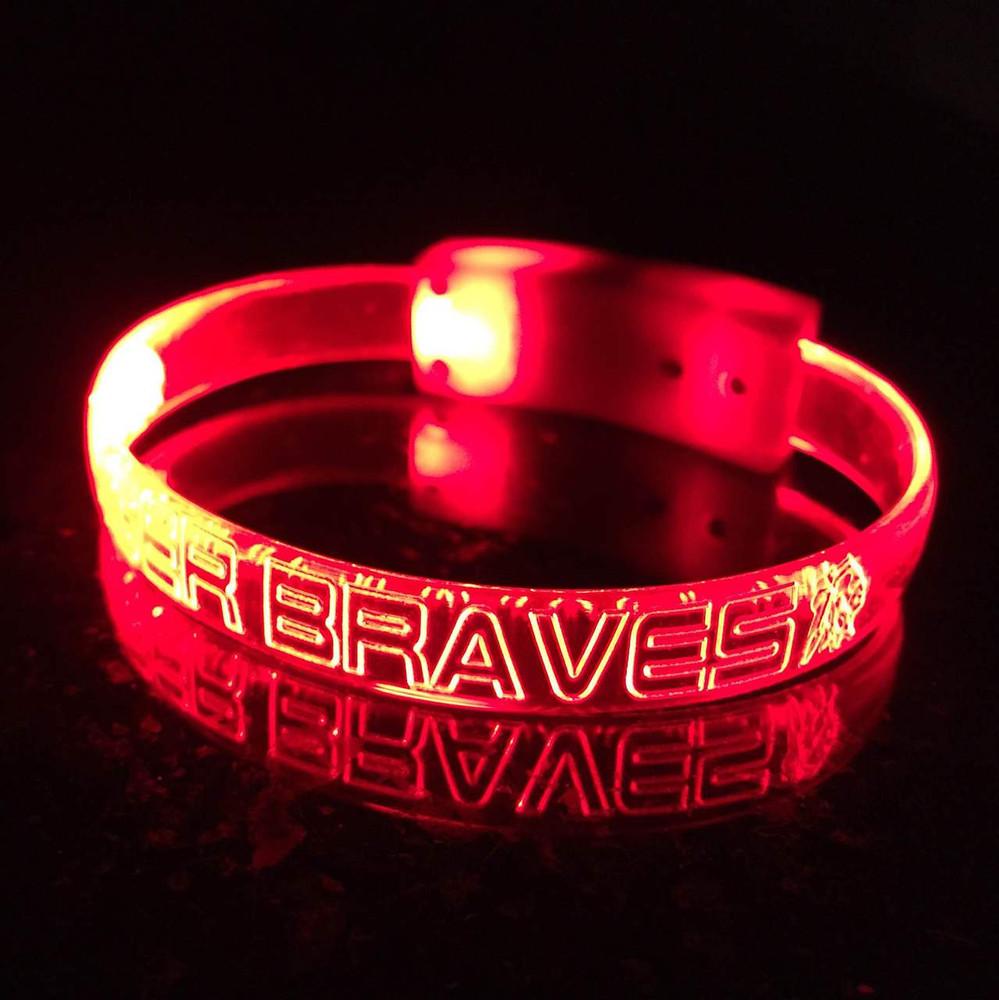 Red,Pink,LED,Custom,Engraved,Branded,Personalized, Bulk, LED, Wristband, LED wristband, Bracelet, Glow,Neon, UV, LED Bands, wrist band,wristband, illuminated, light up, wholesale, School, wedding, nightclub, promo, merch,
