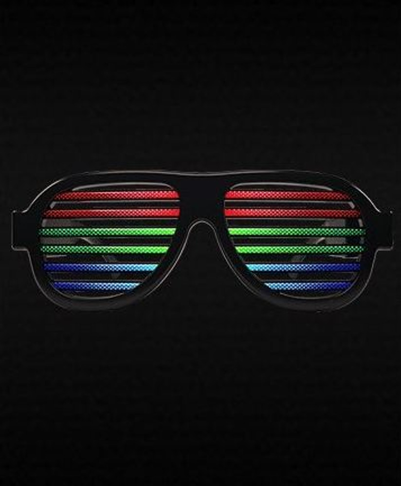 sound activated eyewear, sound activated glasses, sound