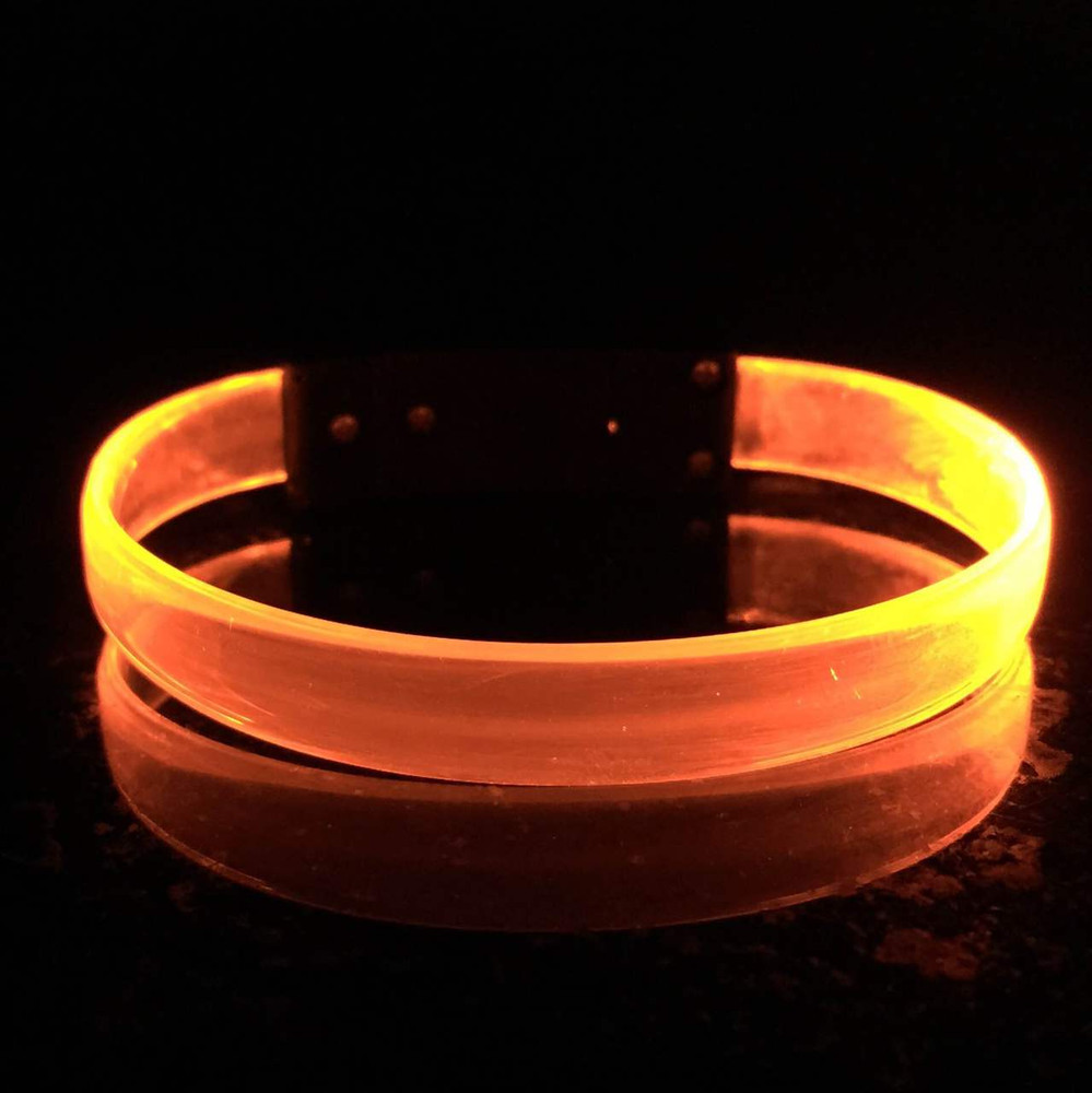 LED, Wristband, Glow, Bracelet, Light up, Silicon, LED Wristband, Nightclub,orange