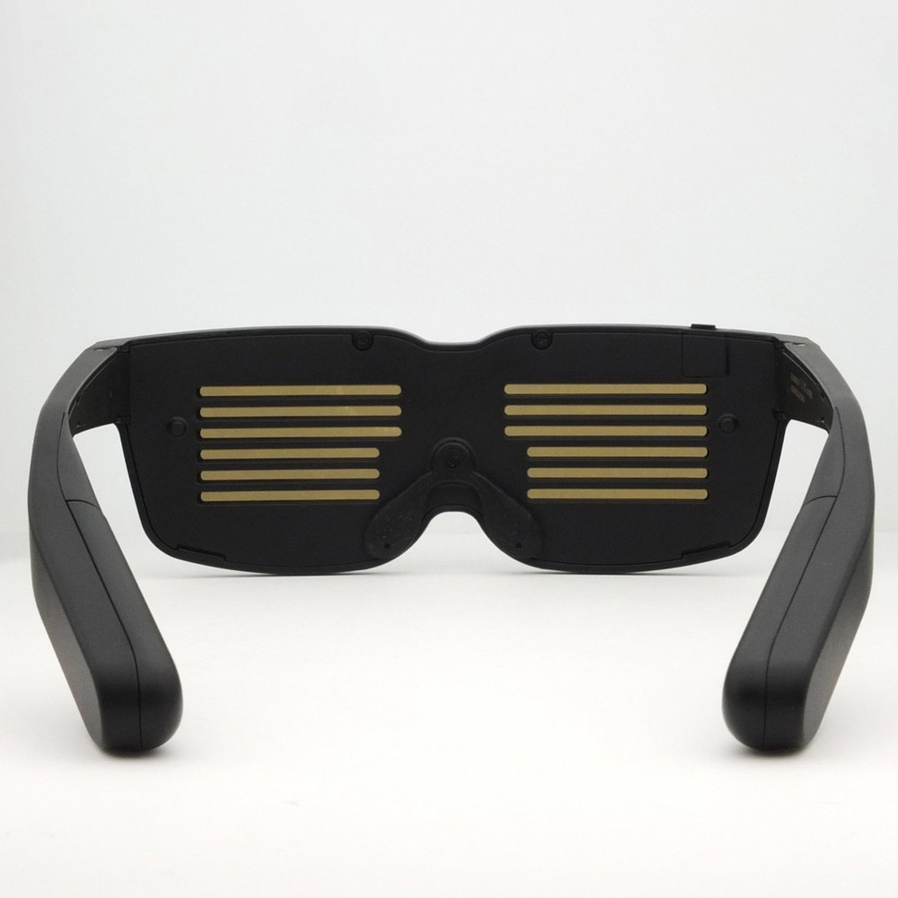 CHEMION - BLUETOOTH LED GLASSES  - SMART LED LCD VIDEO BILLBOARD SHADES - CHEMION