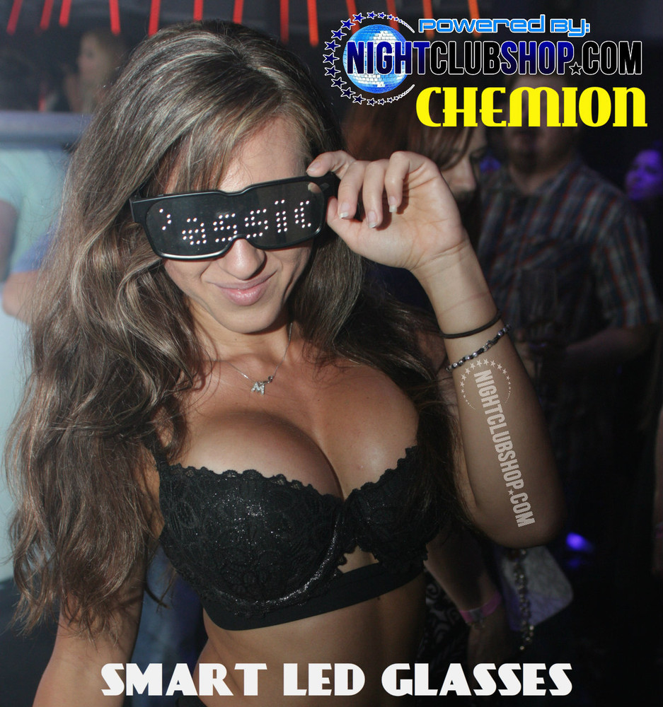 CHEMION, CHEMI ON, Chemi,Chemi's, LED, LCD, Bluetooth,wearable,Tech,Smart, Sun Glasses, SunGlasses, Glasses, Shades, Authorized, Official,Dealer, bulk, Wholesale,Nightclubshop, New Years Eve, NYE Top Product Pick, NYE party Favor ,New Years, Party,Favor, LED glasses, LED shades, Smart glasses