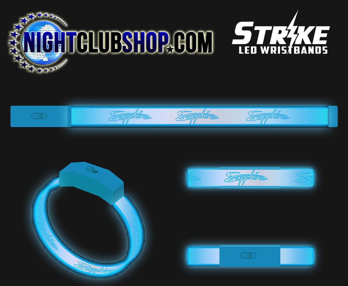 Personalized, Custom, Light up, illuminated, LED, wristband, bracelet, Bands, Name in Lights