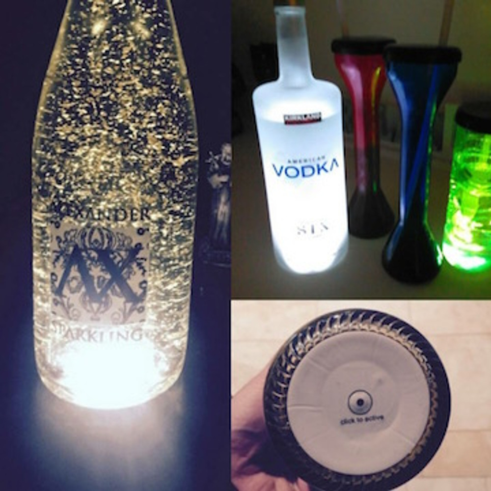 Bottle_Glorifier_coaster_Pad_Glow_Super bright_LED_Sticker_Glorifier_Clam shell_6_LED_Version_new_waterproof_light up_bottle bottle_glow_light up bottle_LED bottle_Blinking_flashing_ Nightclubshop