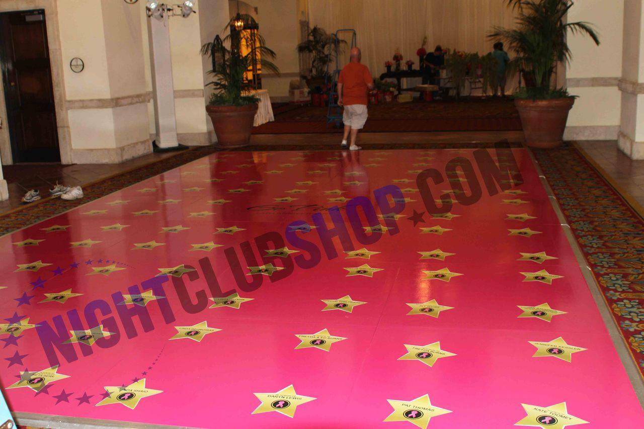 CUSTOM DANCE FLOOR VINYL DECOR WEDDING