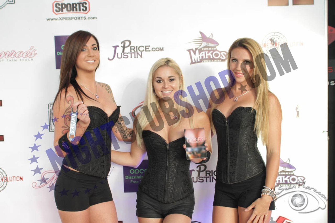 8' X 8' STEP & REPEAT BACK DROP NO GLARE MATTE NIGHTCLUB