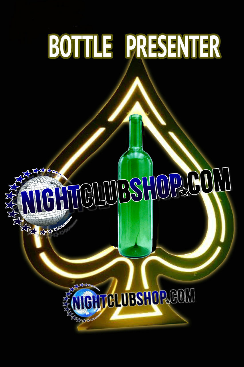 ACE-OF-SPADES-DOM-Champagne-PERIGNON-Bottle-Caddie-Presenter-VIP-Bottle-Delivery-Tray