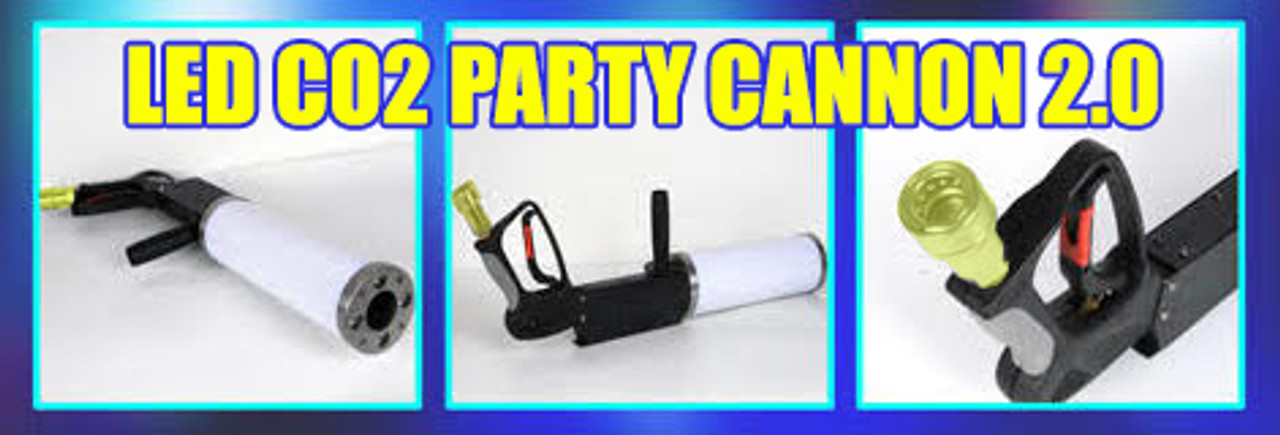 new,model,version, 2.0 , co2, LED, party, cannon, gun, blast, plume, special Fx, Special effect