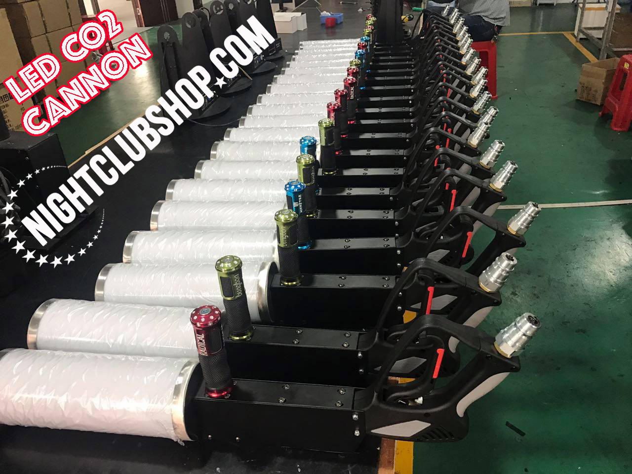 SFX, bulk,Wholesale, LED, Cryo, CO2, Cannon, gun, Party, Blaster