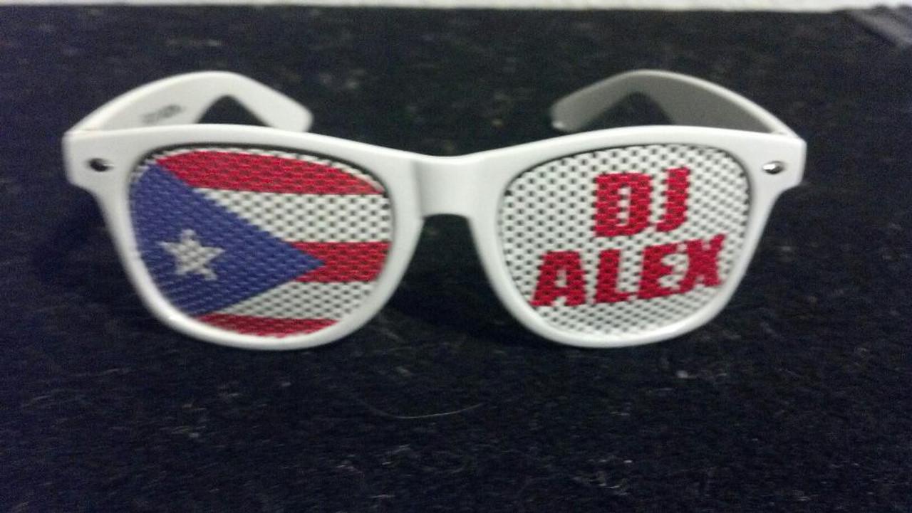 DJ,Logo,Text,Name, I heart, Promotional, custom, Printed, Sun glasses, Sunglasses, Shades