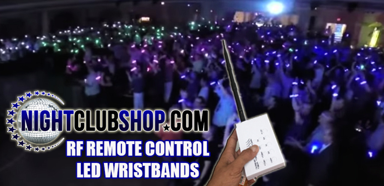 RF, RFID, RF LED wristband, RF LED Foam Stick, Rf LED Glorifier, RF LED BeachBall, Control Remoto