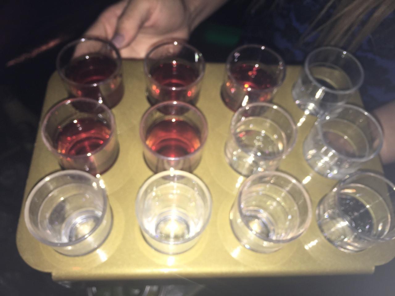 dozen, Top view, Shot Tray, Shot, cup, carrier, holder, Shot,Shot shot shot