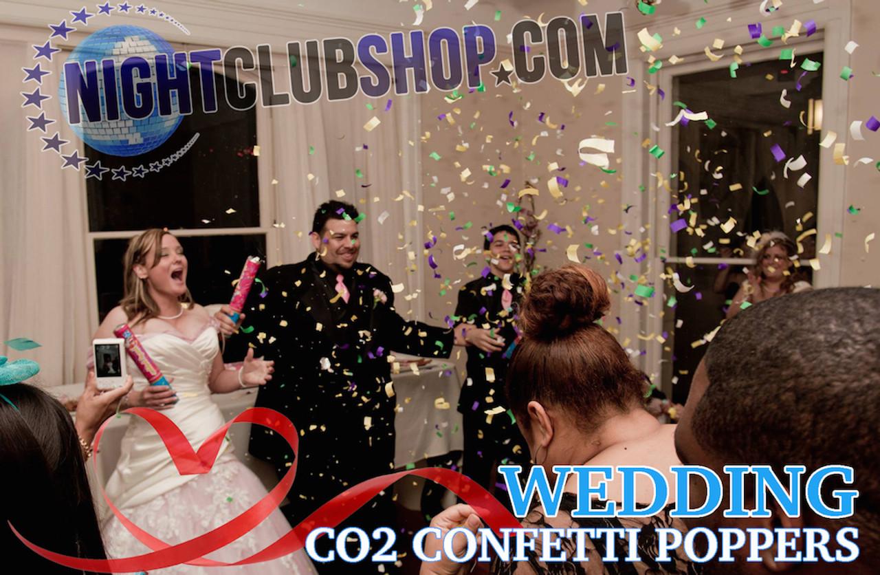 CONFETTI POPPER Tissue Confetti CANNON 12 INCH - (CASE OF 72)