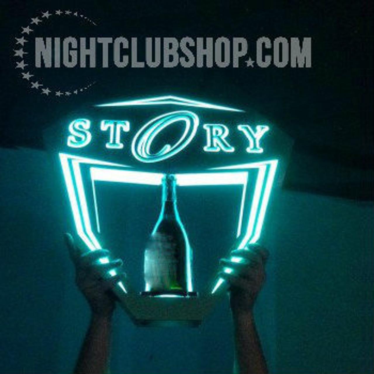 Champagne, 750 ml., Bottle,Service,Delivery,Hypemakerz,presentation, presenter,LED,LIV,Tray, Hype,STORY