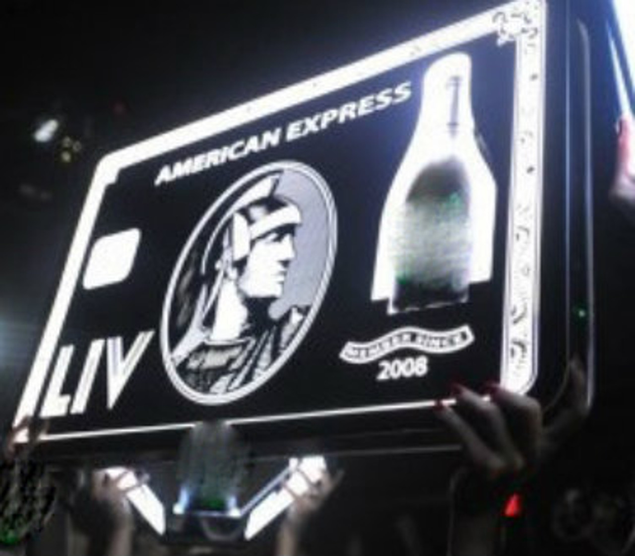 VIP BLACK CARD Bottle Presenters customized for your specific needs