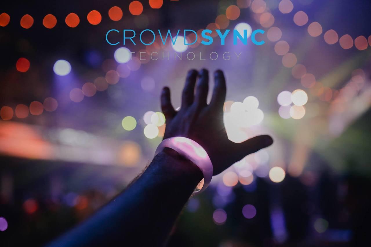 RF LED WRISTBAND - Crowdsync Technology