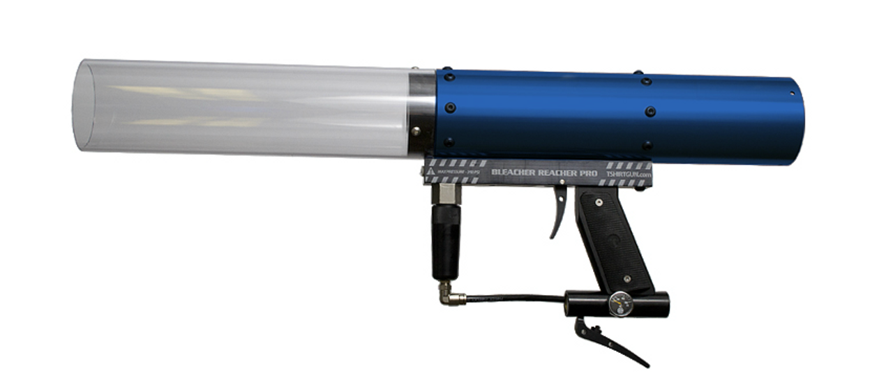 bleacher-reacher-long-distance-tshirt-launcher-gun-cannon-promo-shooter-co2-party-club-nightclub-supplies-shop-blue
