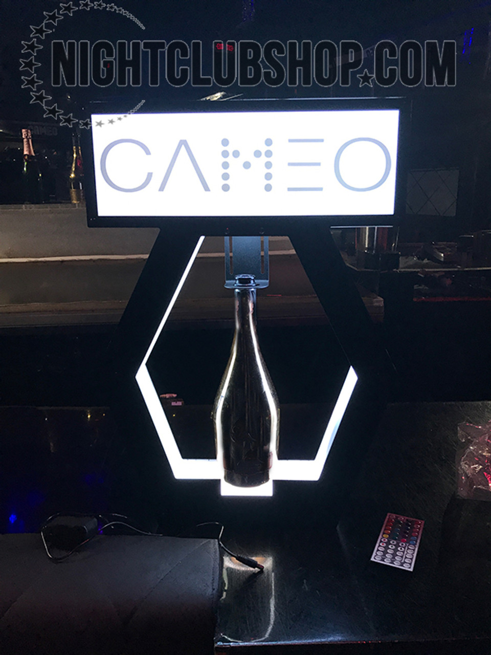 Bottle_service_delivery_carrier_LED Presenter_Presentation_elite_VIP_carry_tray