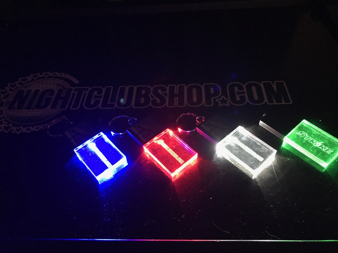 Light up,LED,Keychain,Key,chain,LED keychain, custom, BEAM, dual, print,engraved, logo,text, laser engraved,personalized,promo,merch,fundraiser,nightclub,fund raiser