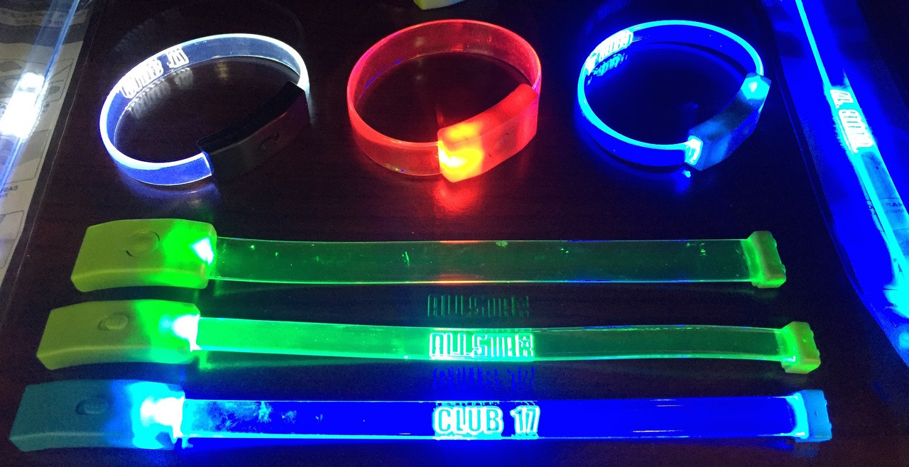 LED bracelet,fundraiser,fund raiser, sell, sale,blank,LED,wristband, school,sports,club,nightclub,