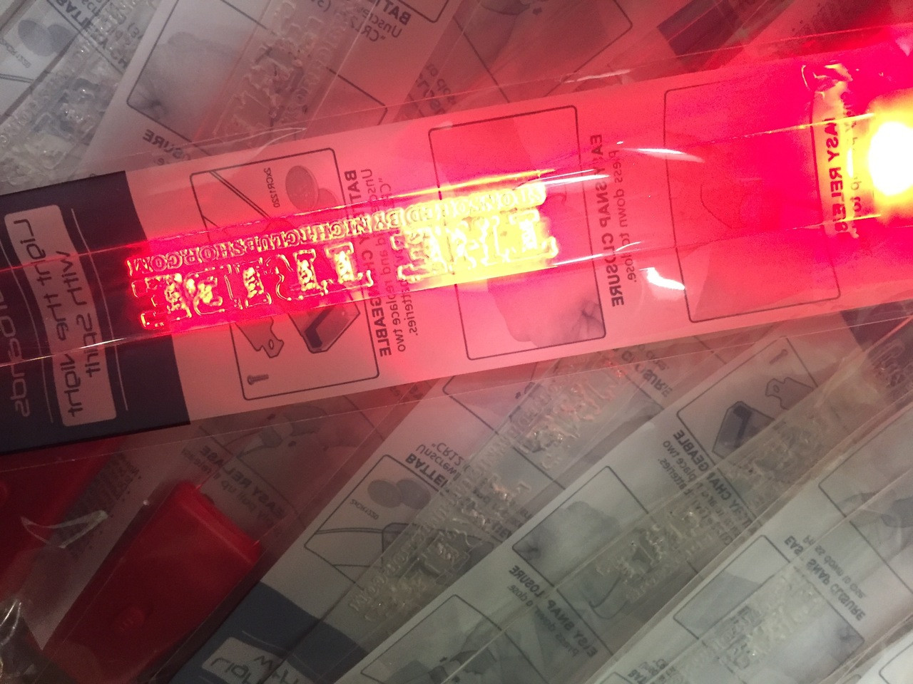 engraved,packaged,Sound,reactive,activated, custom, LED, Wristband,bracelet, sports,charity,school, nightclub, VIP, fundraiser, sound activated, music,flashing,LED wristband