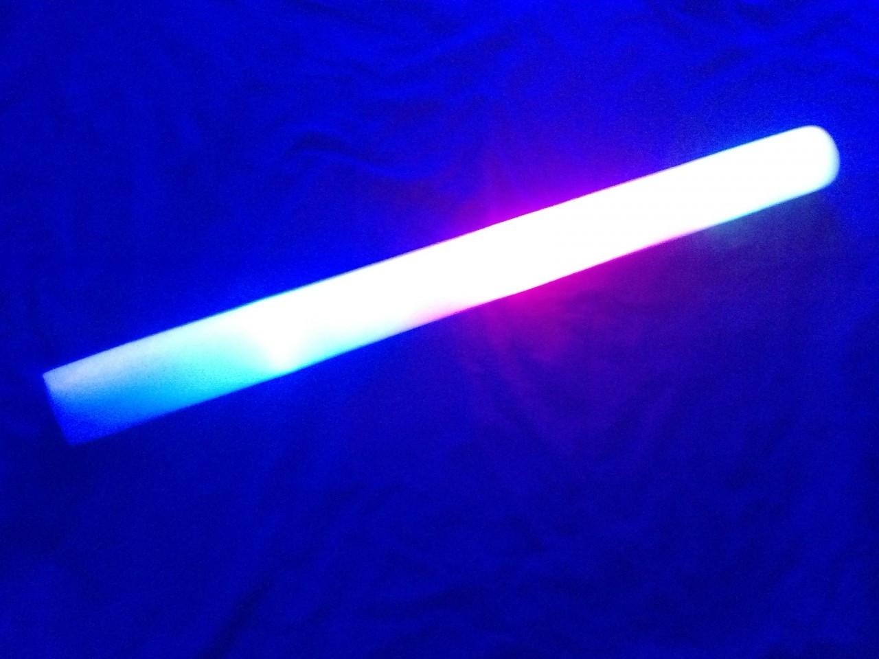 LED , LED BATON, Custom LED Foam Stick, Customized, Personalized, EDM, Electro, House, Promo, Nightclub, Baton, Wand, Stix, Glow, Light up, Lit up, Electronic, Coachella, Grand Central, Foam Sticks, Foam Stix, Glow Sticks, Illuminated, Foam Baton,
