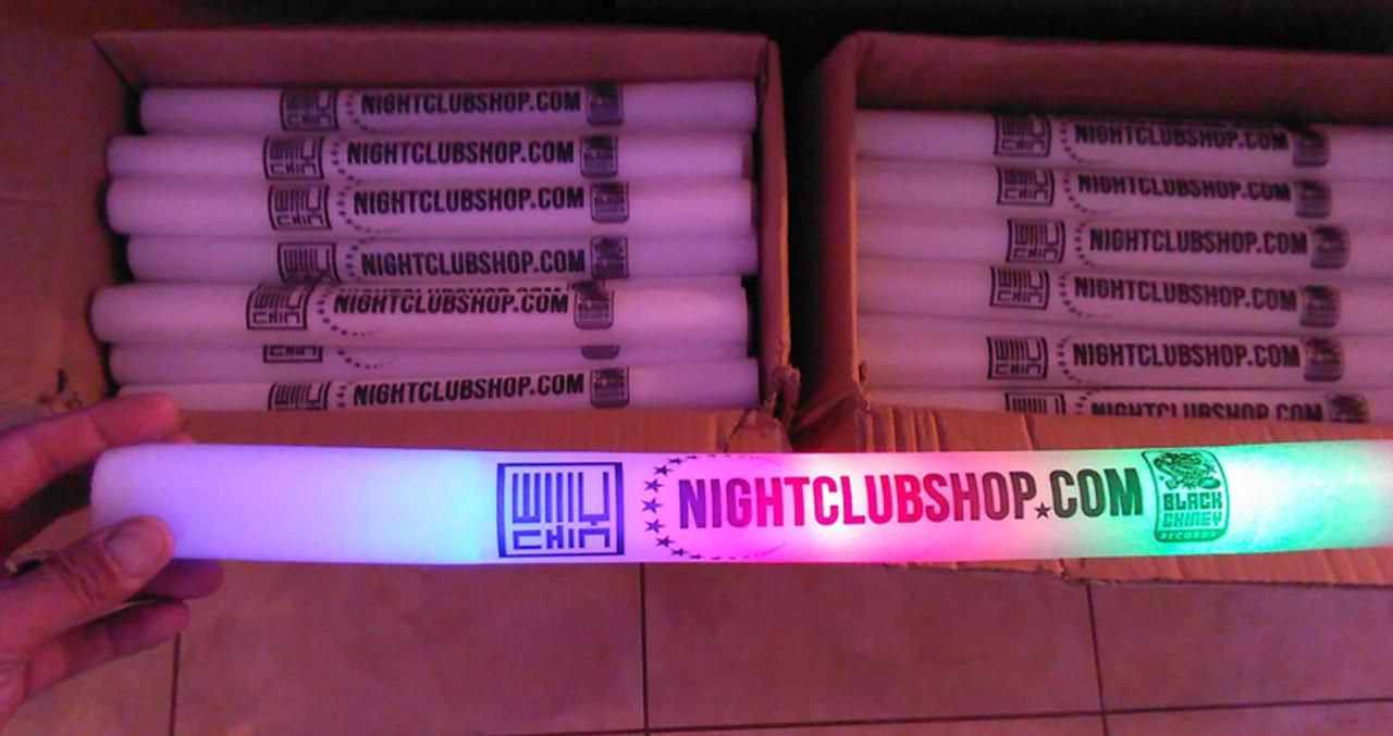 18 inch-foamstick-custom-nightclub-supplier-promotional-marketing-products-foam-baton-stick-glow-party-event-supplies-venue