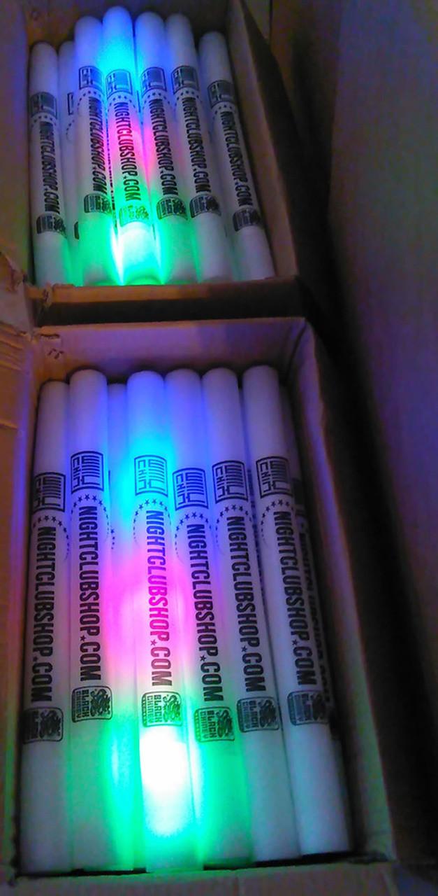 18 inch-foamstick-custom-nightclub-supplier-promotional-marketing-products-foam-baton-stick-glow-party-event-supplies-venue-edm