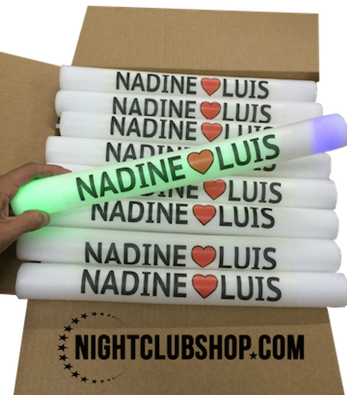 VLED , LED BATON, Custom LED Foam Stick, Customized, Personalized, EDM, Electro, House, Promo, Nightclub, Baton, Wand, Stix, Glow, Light up, Lit up, Electronic, Coachella, Grand Central, Foam Sticks, Foam Stix, Glow Sticks, CLUB SPACE, South Beach, Miami, DjAlex K., MiamiVideoKings