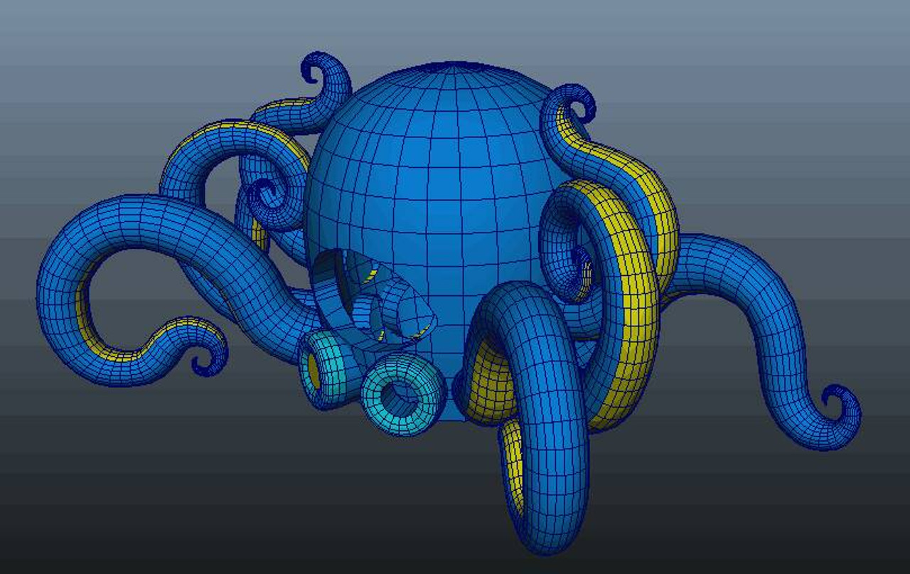 LED_inflatable_PartyPus_Octopus_Dj_Booth_event_festival_DjBooth_cabin_Nightclubshop