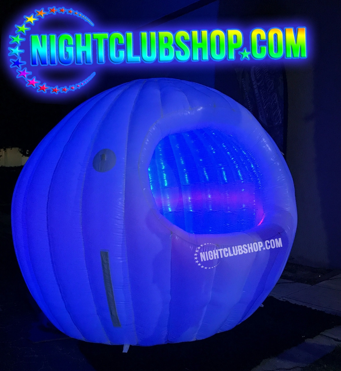 Inflatable_Pop Up_LED_DJ_Booth_DJBooth_Sphere,Light up_illuminated_cabin_Glow_Neon_UV_DJS, Gear, Stage_mini_portable, Air, Blow up,Tent,display,facade, LEDDJBooth,Nightclubshop