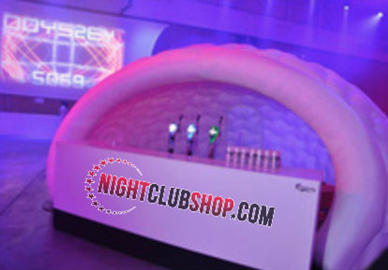 Pop Up,LED BAR,LED BOOTH,  Inflatable, Blow Up, LED, Illuminated,Glow,Neon, DJ,Booth, Bar, tent, Caban,VIP Room,VIP Booth,Beach,Pool,party,Event,DJs