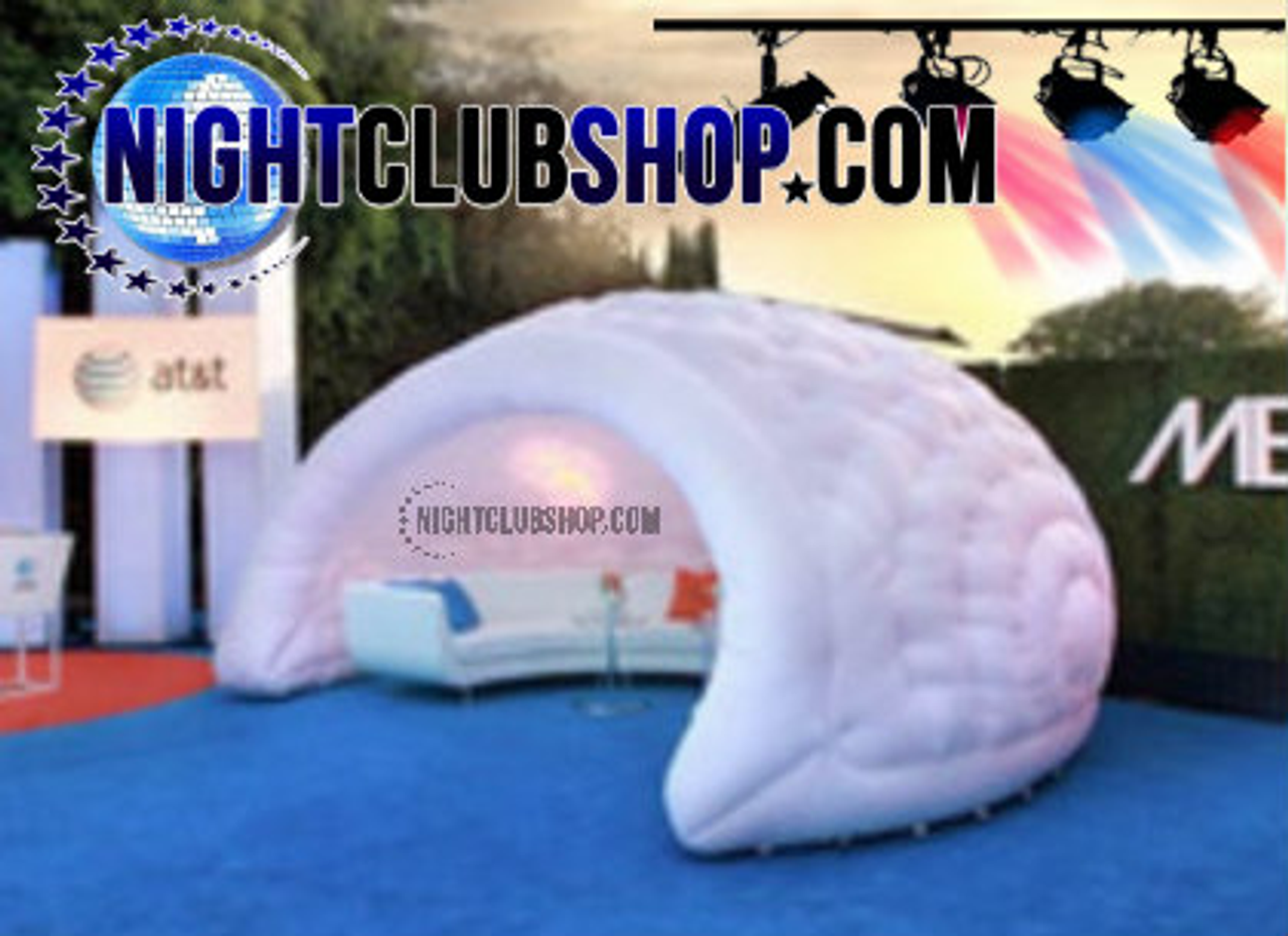 Pop Up, Inflatable, Blow Up, LED, Illuminated,Glow,Neon, DJ,Booth, Bar, tent, Caban,VIP Room,VIP Booth,Beach,Pool,party,Event,DJs
