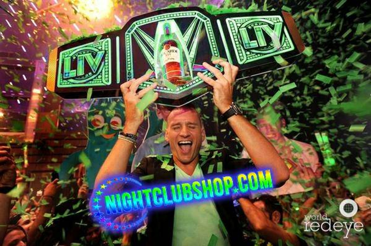 Custom_VIP_bottle_war_Champagne_Liquor_Champion_championship_Belt_title_Nightclub_branded_Logo_bottle Service_Presenter_carrier_holder_tray_Nightclubshop