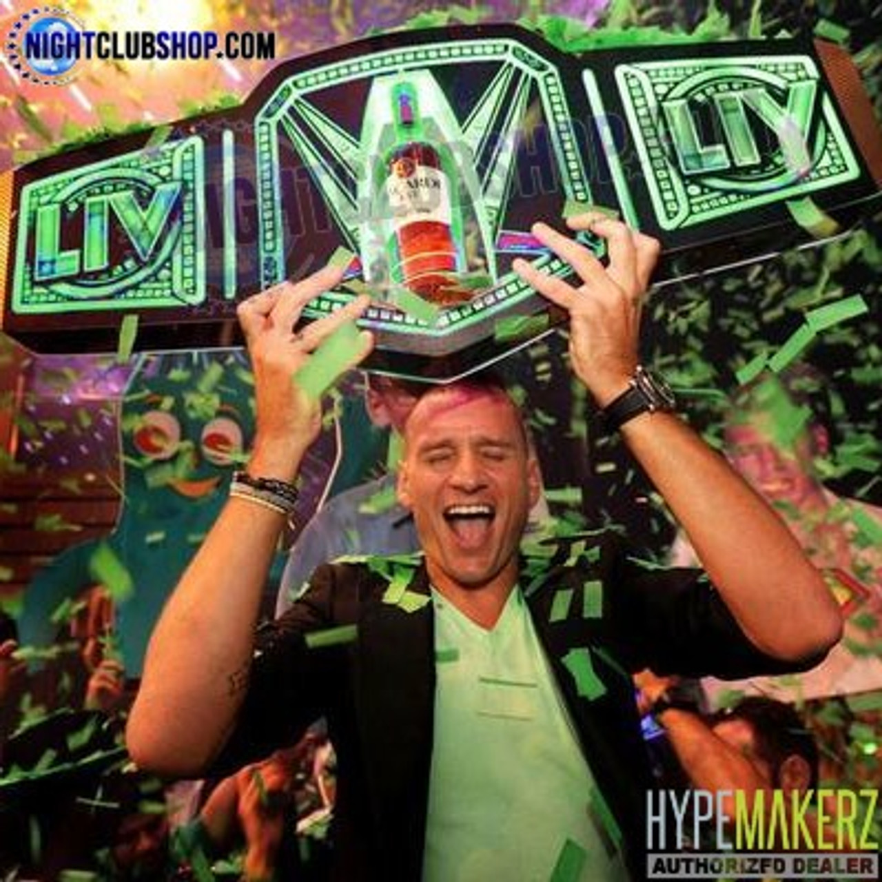 LED_RGB_RF_Remote_Controlled_Championship_Belt_Multi_Use_Winner_Celebration_LIV_Club_Nightlife_Club_Casino_Party