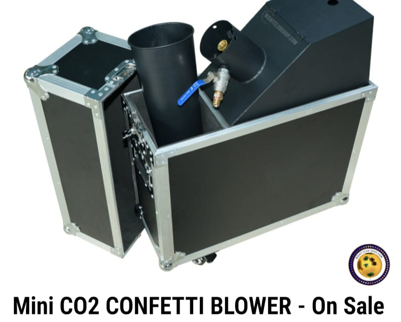 Mini, CO2 , Power, confetti, blower, launcher, machine