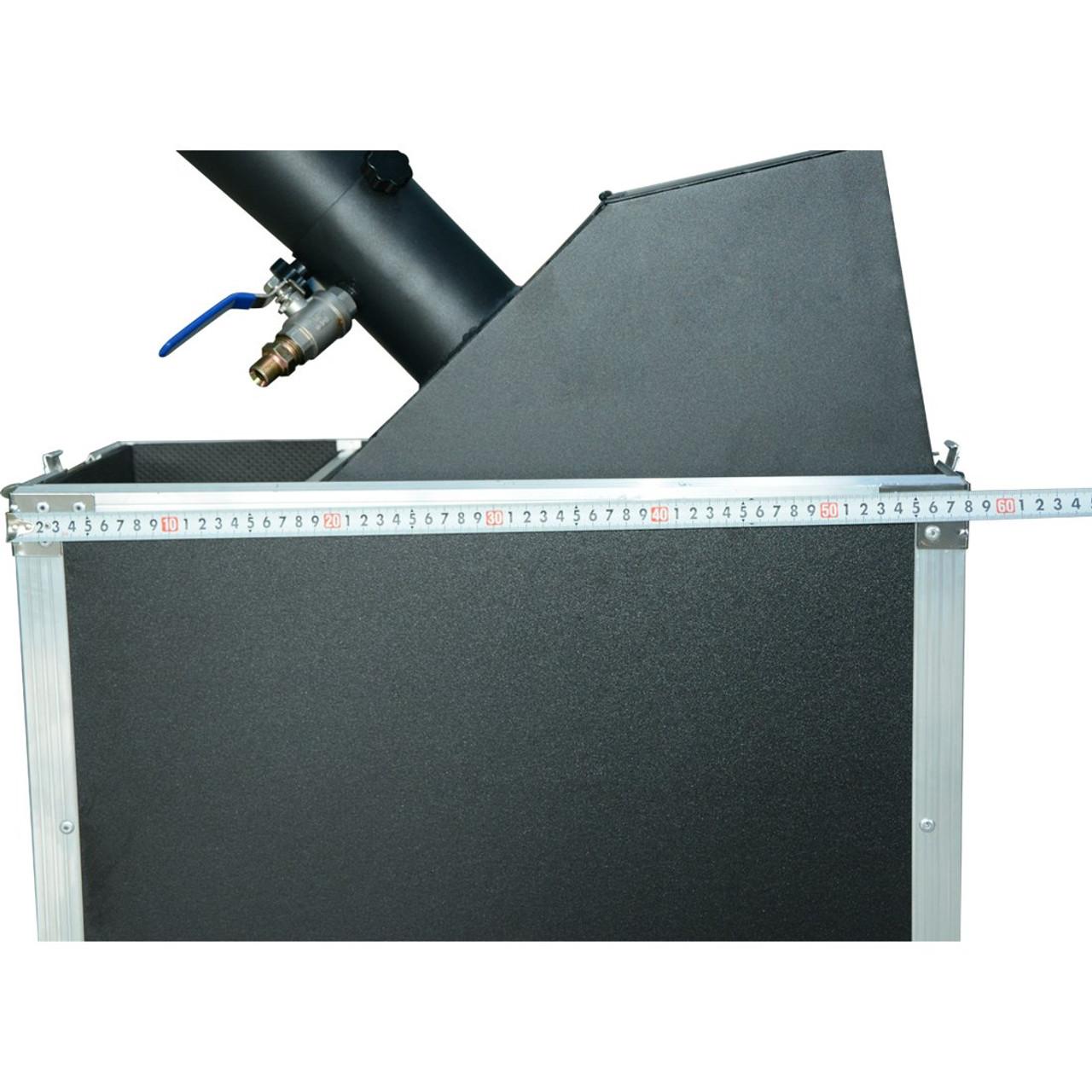 manual, co2 , power, confetti, box, blower,flight case, mini,small