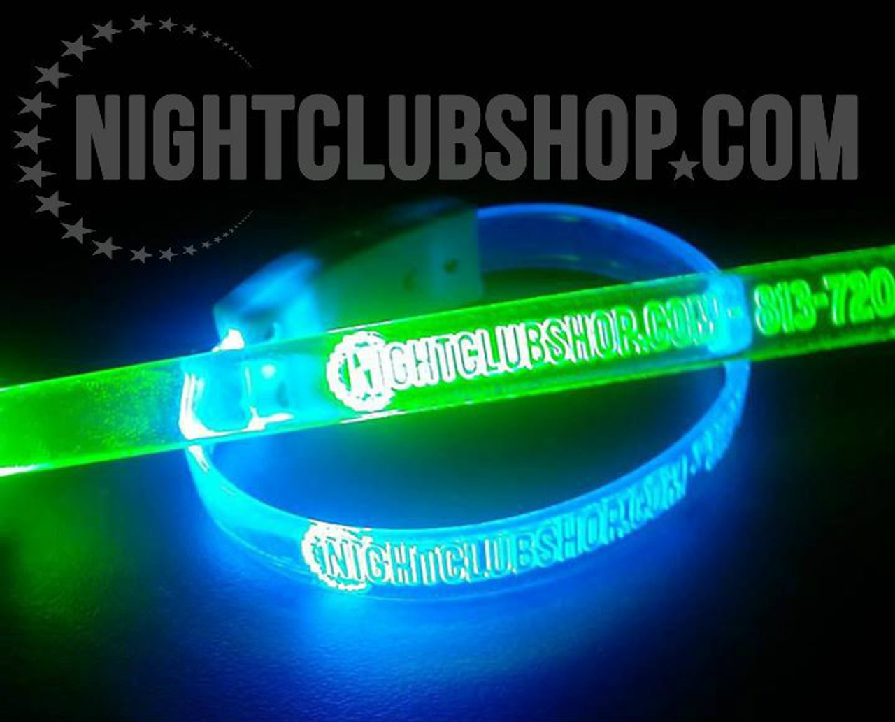 Custom,Engraved,Branded,Personalized, Bulk, LED, Wristband, LED wristband, Bracelet, Glow,Neon, UV, LED Bands, wrist band,wristband, illuminated, light up, wholesale, School, wedding, nightclub, promo, merch, brand,LED wristband