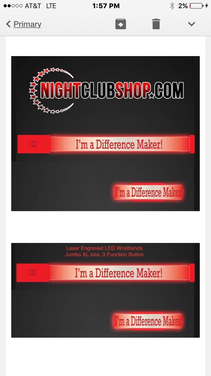 NEW YEARS Custom  LED WRISTBANDS - PERSONALIZED - CUSTOM - Light Up Optical Engraved LED Bands - FREE SHIPPING USA