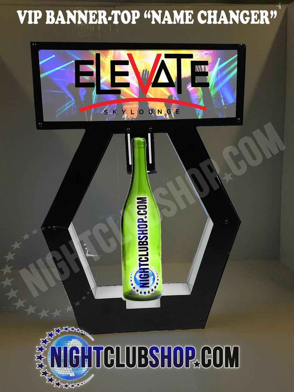 Nightclub_VIP_Lightbox_Champagne_Liquor_Tray_interchangeable_Bottle_service_carrier_holder_tray_Presenter_caddie_caddy_Banner_Top_Illuminated