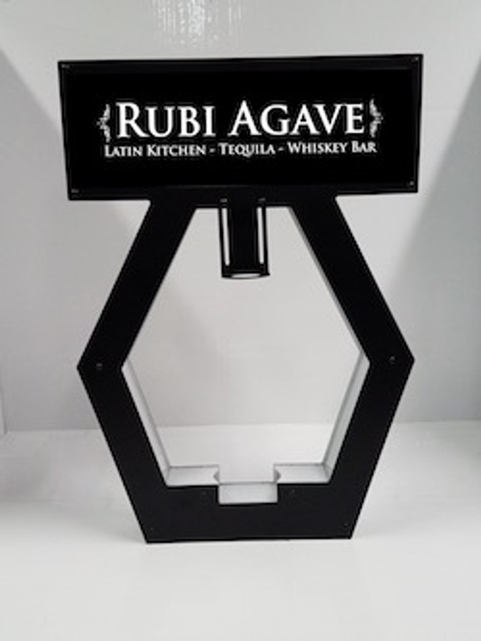 changeable_Nightclub_VIP_Lightbox_Champagne_Liquor_Tray_interchangeable_Bottle_service_carrier_holder_tray_Presenter_caddie_caddy_Banner_Top_LED_Sign