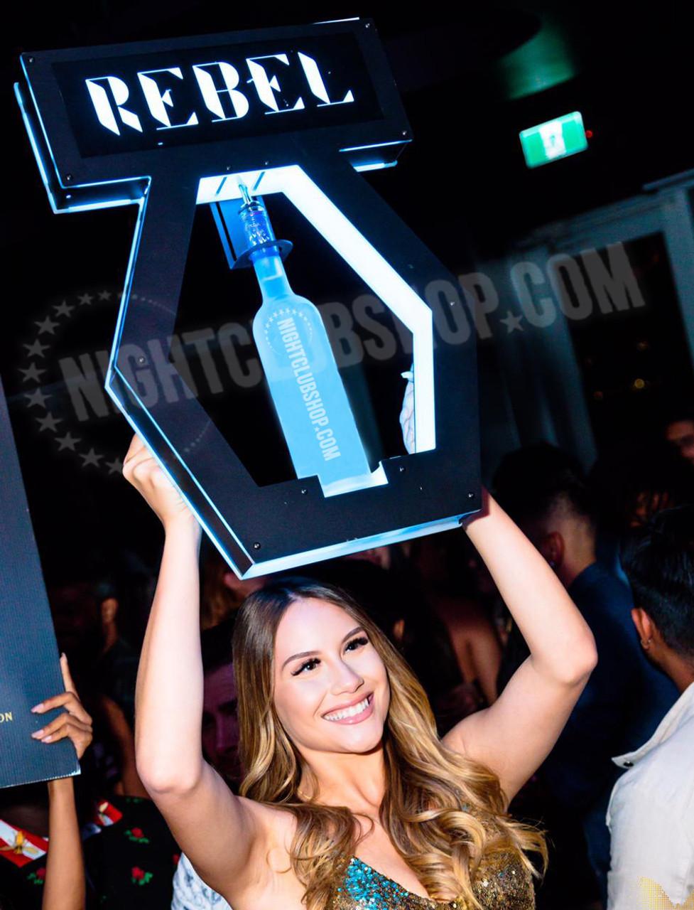 interchangeable, bottle, service, tray, presenter, VIP